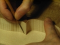 tracciatura contorno con punta da segno 2